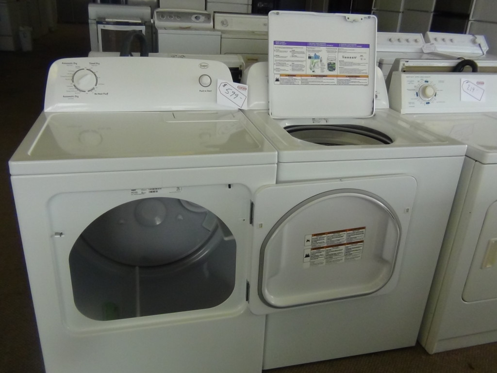 come see this like new washer and dryer set in our southport showroom located at maison ave near southport rd or call for more details